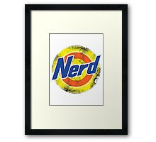Cool Nerd Framed Print