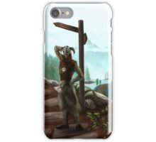 Two Roads iPhone Case/Skin
