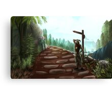 Two Roads Canvas Print
