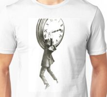 I want to stop time - hommage to Harold Lloyd. Unisex T-Shirt