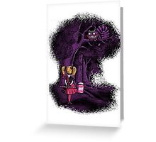 Mad Here Greeting Card