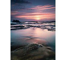 Norah rocks sunrise Photographic Print