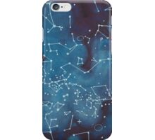 Astronomer's Constellation Star Map iPhone Case/Skin