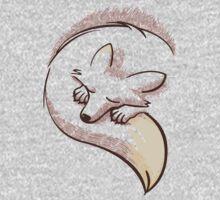 The fox is sleeping One Piece - Short Sleeve