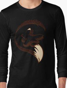 The fox is sleeping Long Sleeve T-Shirt