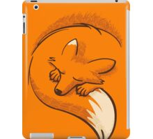 The fox is sleeping iPad Case/Skin