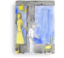Selfs, saints, souls and ghosts V Canvas Print