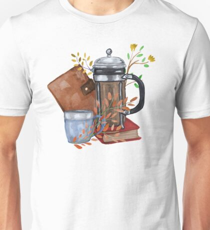 Coffee and Flowers Unisex T-Shirt