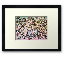 Bird Song #2 Framed Print