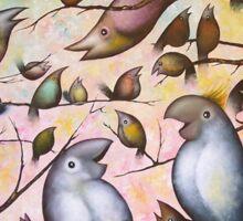 Bird Song #2 Sticker