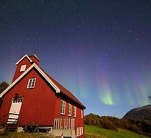 Aurora Borealis, Elgnes, Norway by Allyeska