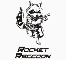 Rocket Raccoon  by MerchJDW