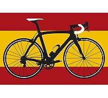 Bike Flag Spain (Big - Highlight) Photographic Print