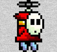 Shy Guy flying Super Mario Unisex T-Shirt