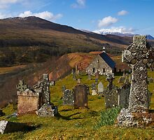 Cille Choirill Church and Churchyard by Alison Scotland