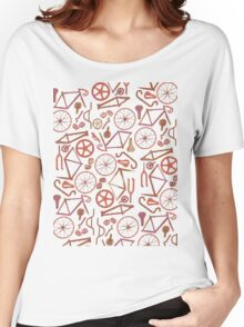 Bicycle Assembly Pattern (autumn) Women's Relaxed Fit T-Shirt