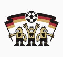 Fußballfans Deutschland Fußball Fan Germany by MrFaulbaum