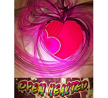 Open Hearted Photographic Print