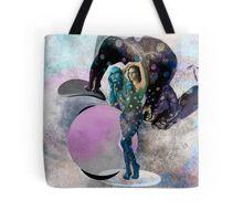 Pink Moon - Throw Cushion Tote Bag