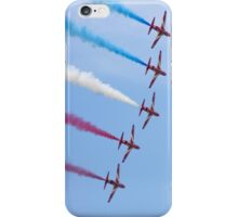 Red Arrows in formation iPhone Case/Skin