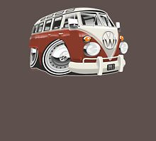 VW T1 bus caricature red Unisex T-Shirt