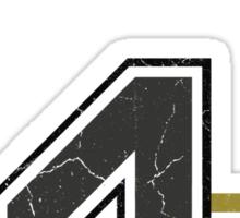 Hufflepuff Home Jersey  Sticker