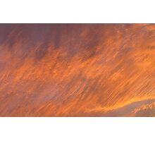 Sunset Cloud background series 2 Photographic Print