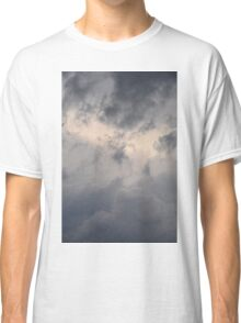 Fluffy stormy clouds. Classic T-Shirt