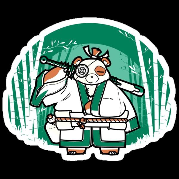 Samurai Panda by japu