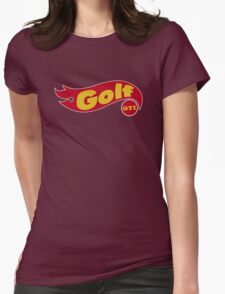 Golf GTI hot wheels Womens Fitted T-Shirt
