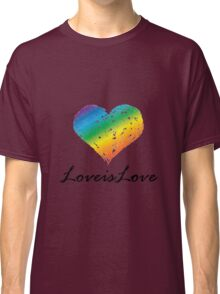 Pride - Love is Love Classic T-Shirt