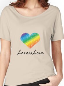 Pride - Love is Love Women's Relaxed Fit T-Shirt