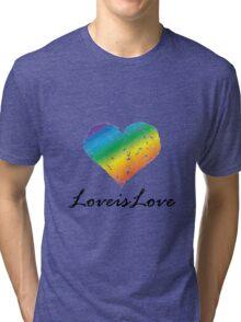 Pride - Love is Love Tri-blend T-Shirt