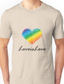 Pride - Love is Love Unisex T-Shirt