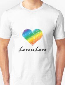 Pride - Love is Love Unisex T-Shirt