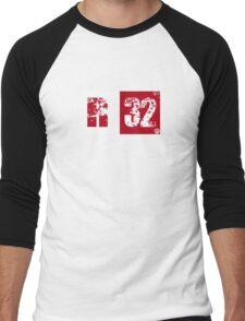 R32 (red) Men's Baseball ¾ T-Shirt