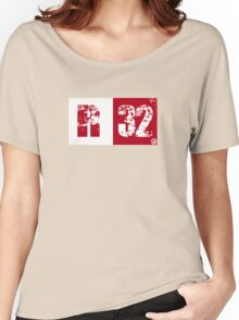 R32 (red) Women's Relaxed Fit T-Shirt