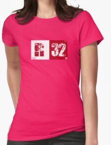R32 (red) Womens Fitted T-Shirt