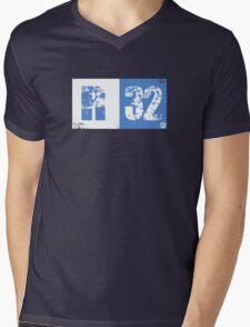 R32 (blue) Mens V-Neck T-Shirt