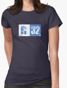 R32 (blue) Womens Fitted T-Shirt