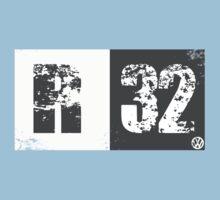 R32 (dark grey) One Piece - Short Sleeve