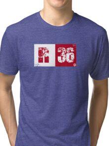 R36 (red) Tri-blend T-Shirt