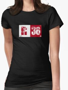 R36 (red) Womens Fitted T-Shirt