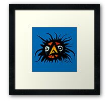 Bird under the sea Framed Print