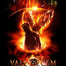 Vale Decem - The Lonely Angel (Greeting Card) by ifourdezign