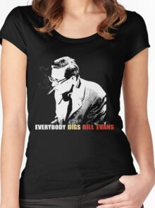 Bill Evans - Everybody Digs Bill Evans Women's Fitted Scoop T-Shirt