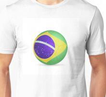 Brazil Soccer Unisex T-Shirt