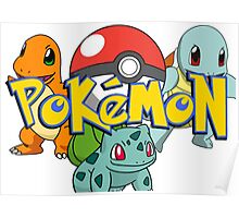 Pokémon artwork Poster