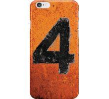 Up in Fl4mes - Black iPhone Case/Skin