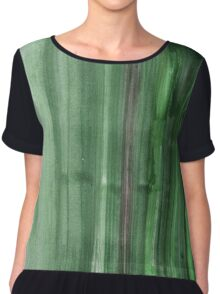 Abstract Watercolor Texture Chiffon Top